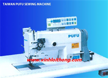 PU-8842-Z COMPUTER CONTROL DOUBLE NEEDLE LOCKSTICH SEWING MACHINE