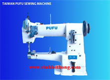 PUFU MODEL: PU-335 CYLINDER BED COMPOUND FEEDING SEWING MACHINE