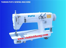 PU-8380-2 DOUBLE NEEDLE CHAINSTITCH SEWING MACHINE ( NEEDLE STITCH IN VERTICAL/NEEDLE STITCH IN HORI